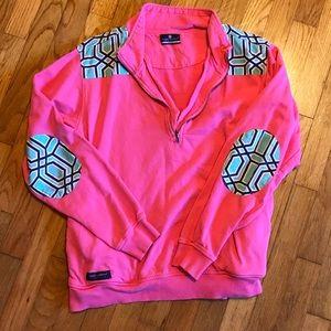 Simply Southern 3/4 zip sweatshirt
